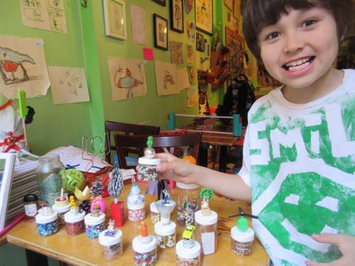 Taiyo and mini trophies